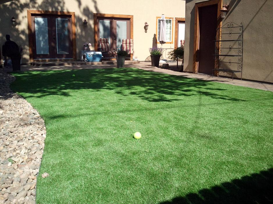 Artificial Grass Installation Granite Hills, California ... on Artificial Grass Backyard Ideas  id=71619