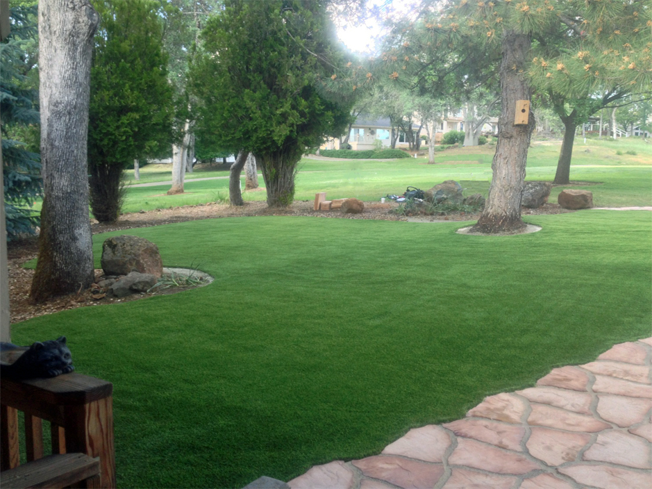 Grass Installation Hideout, Utah Backyard Deck Ideas ... on Non Grass Backyard Ideas  id=92479