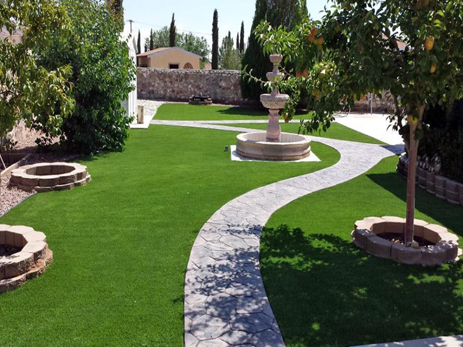 Grass Turf Kingston, Utah Paver Patio, Small Backyard Ideas on Turf Patio Ideas id=57081