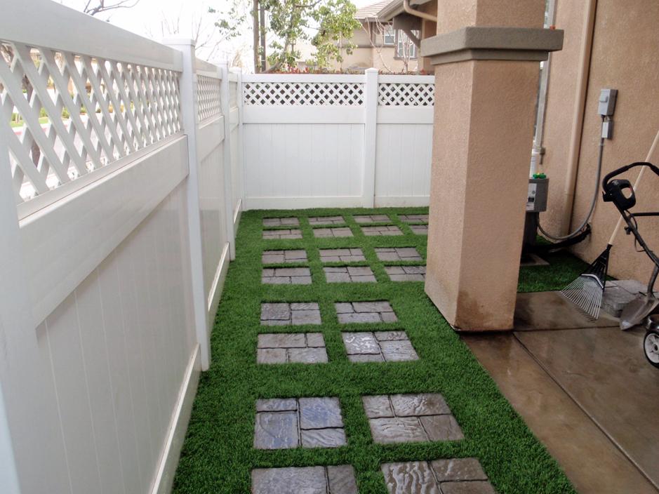 Grass Turf Sisquoc, California Paver Patio, Backyard ... on Turf Patio Ideas id=18502