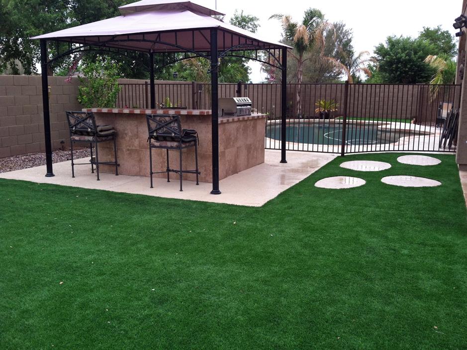 Plastic Grass Bell, Florida Backyard Deck Ideas, Swimming ... on Turf Backyard Ideas id=89464