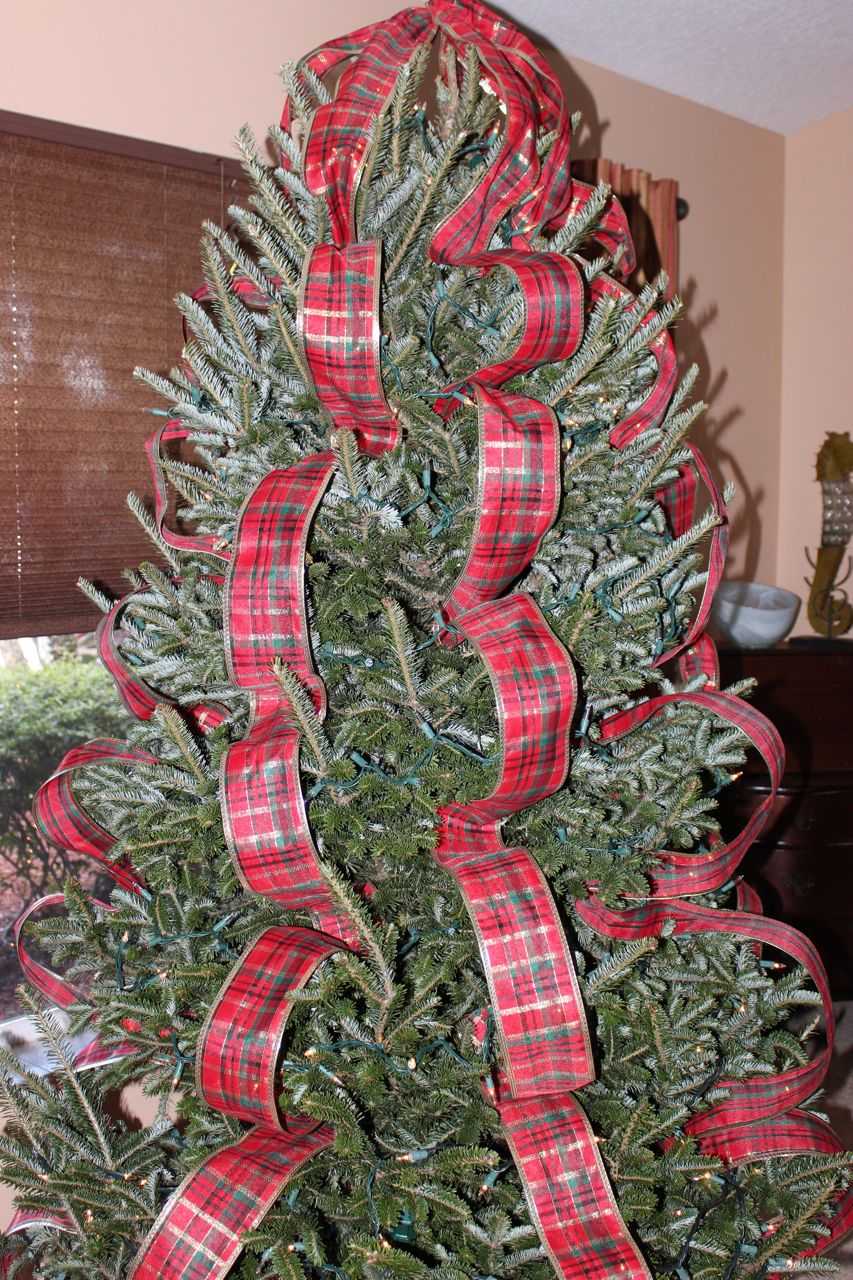 You Tree Decorate Ribbon How Christmas Do