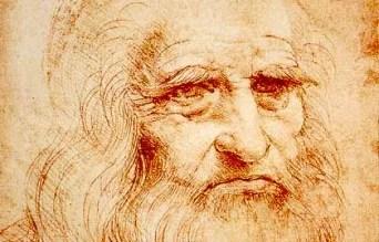 Artify - Zoom sur l'autoportrait de Léonard de Vinci