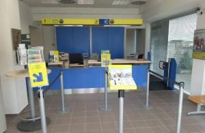 Realizzazione ufficio Postale Mazzano Romano - sportelli