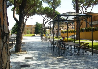 Riqualificazione Piazza Mileto Roma