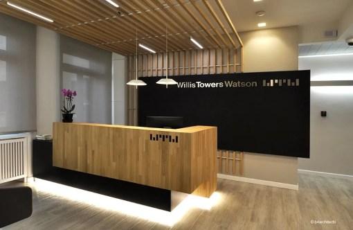 Ristrutturazione nuova sede Willis Towers Watson
