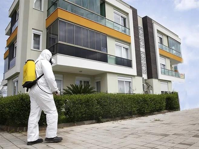 operaio disinfezione e sanificazione