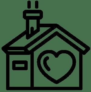 icona casa amore