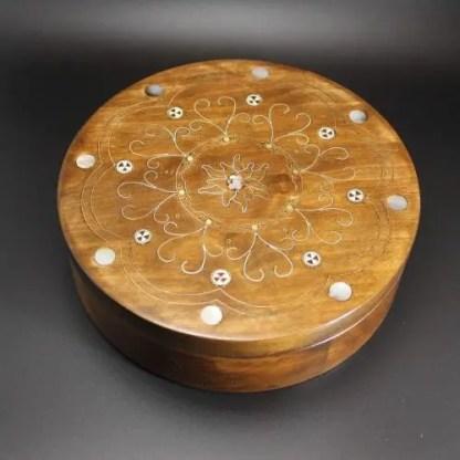 Scatola in legno intarsiato tecnica Tar-kashi