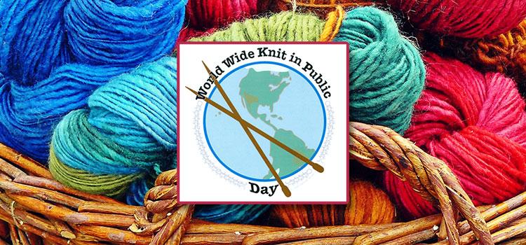 La journée mondiale du tricot 2016
