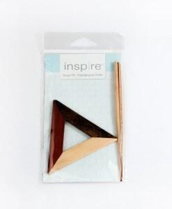 Épingle pour châle en bois (triangle) - Inspire