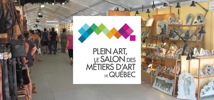 Plein Art - Le Salon des Métiers d'Art de Québec