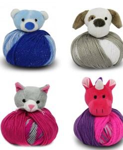 Ourson, chien, chat et licorne - Tuque Top This!
