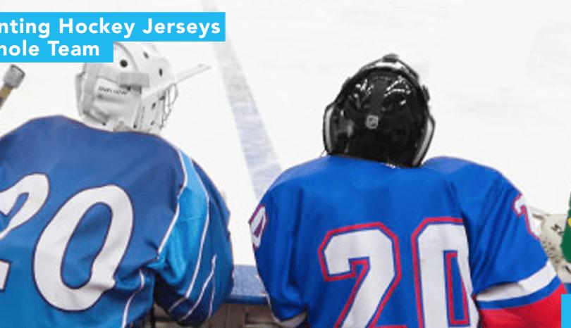 Custom Printing Hockey Jerseys for Your Whole Team