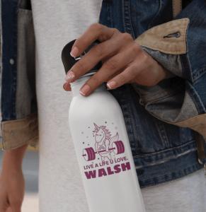 Custom printed stainless steel bottles from Artik Toronto