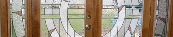 Stained Glass Entryway Door