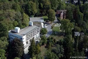 Emil Fahrenkamp, albergo in stile razionalista, Monte Verità - Foto Massimo Pedrazzini