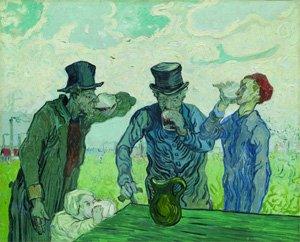 Vincent van Gogh, I bevitori o Le quattro età dell'uomo, 1890