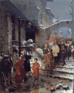 Giacomo Di Chirico, Processione