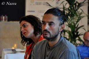 Kami, regista del video promozionale del Festival Nazra, all'Hotel Excelsior del Lido per la presentazione di Nazra. Photo coutesy Nazra