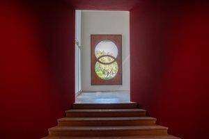 16. Mostra Internazionale d'Architettura a Venezia. Finestra di Carlo Scarpa al Padiglione Centrale dei Giardini della Biennale,