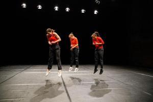 "12. Festival Internazionale di Danza Contemporanea. Xavier Le Roy, ""Le Sacre du Printemps"". (Foto @labiennale.org)"