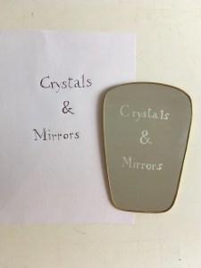 LaGuilda, Crystals and Mirrors, opera per la mostra Cristalli e specchi, Le Café, Campo S. Stefano, Glassweek, 4-14 settembre 2021