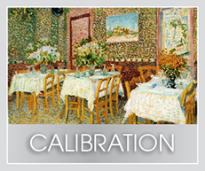 Calibration Services for artists. Art Ink Print. Victoria, BC.