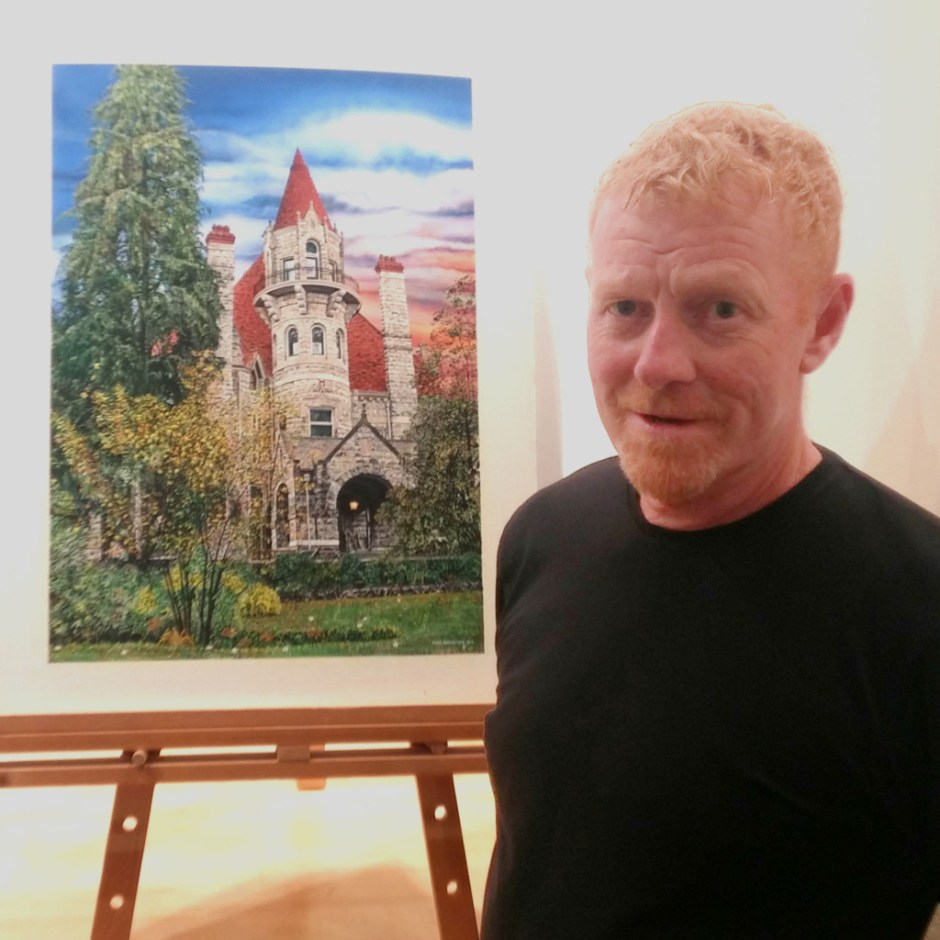 Artist Peter Robertson