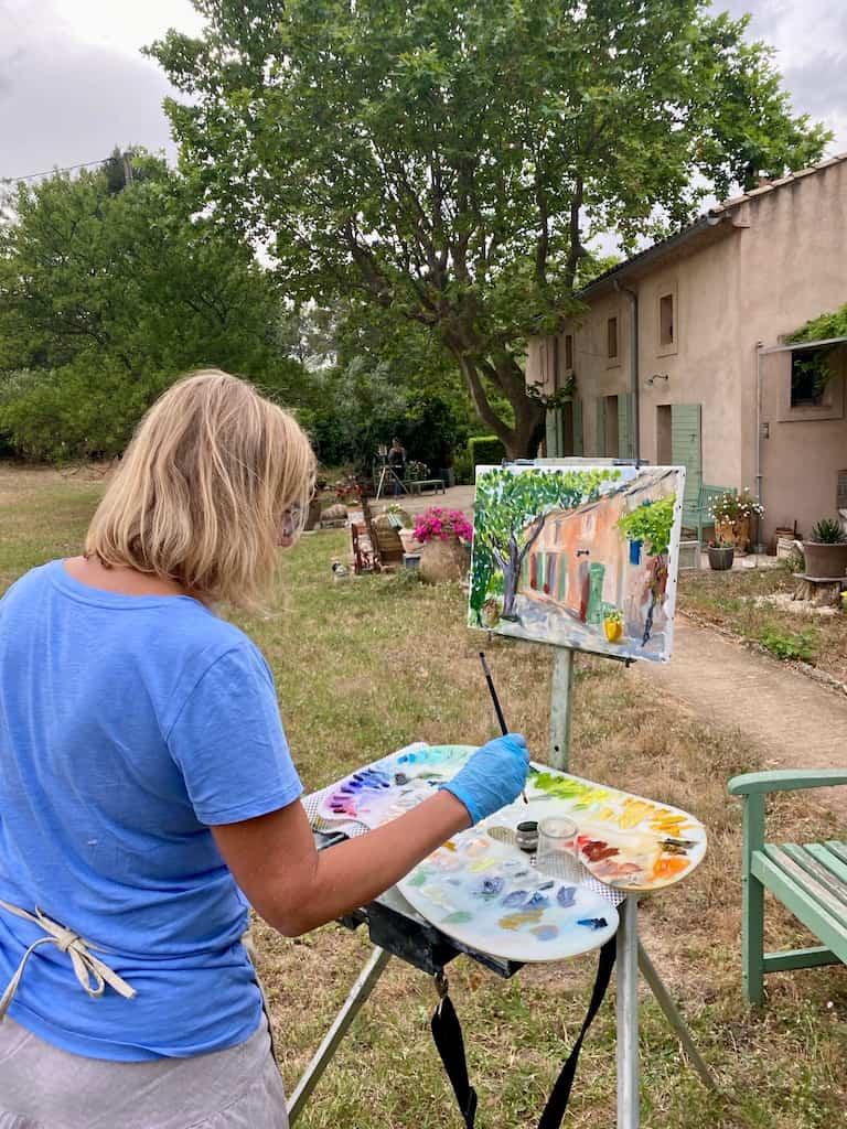 Painting l'Abeille