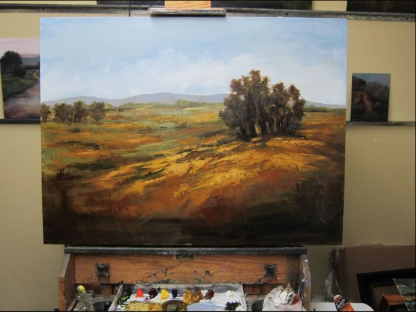 """Autumn Field"" - An Oil Painting Demonstration•Art ..."