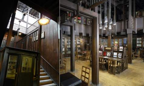 The Mackintosh library at The Glasgow School of Art.