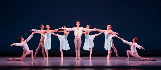 """The Joffrey Ballet """"Allegro Brillante"""" by George Balanchine Photo: Cheryl Mann"""