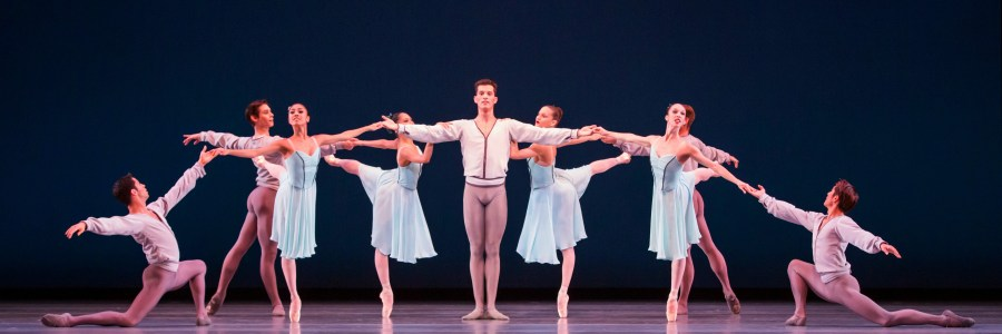"The Joffrey Ballet ""Allegro Brillante"" by George Balanchine Photo: Cheryl Mann"