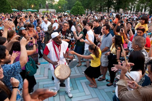 Summerdance, courtesy of the Chicago Department of Cultural Affairs