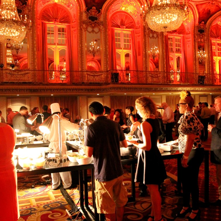 Pre-performance gala at the beautiful Hilton Grand Ballroom