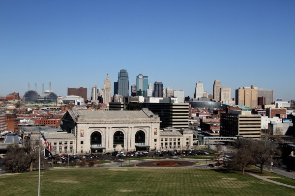 Kansas City skyline from the World War I Museum (photo: Lauren Warnecke)