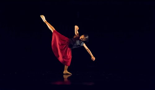 Thodos Dance Chicago's At the Apex, choreographed by Robyn Mineko Williams. Pictured: Briana Robinson. Photo credit: Chloe Hamilton