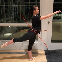 Anterior pelvic tilt can result from disengaging the core and allowing the ribs to splay