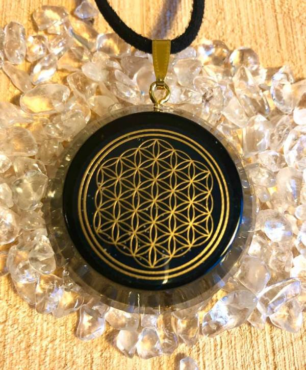 Flower of life verguld