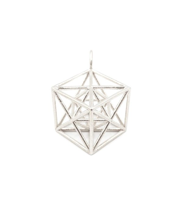 Metatron Cube Sterling Silver ArtisanGifts