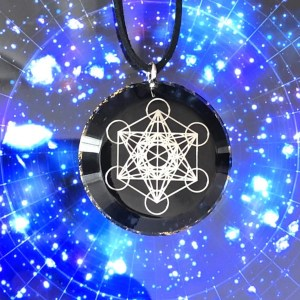 Metatron shungite orgonite hanger