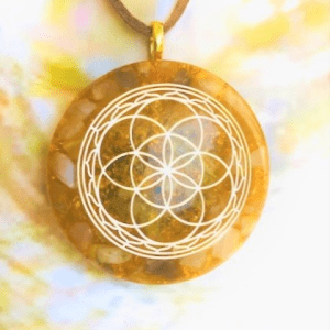 Cosmic Seed of Life Golden Healer XL