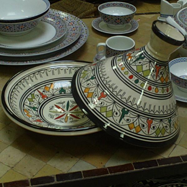 Plat Tajine Marocain Design