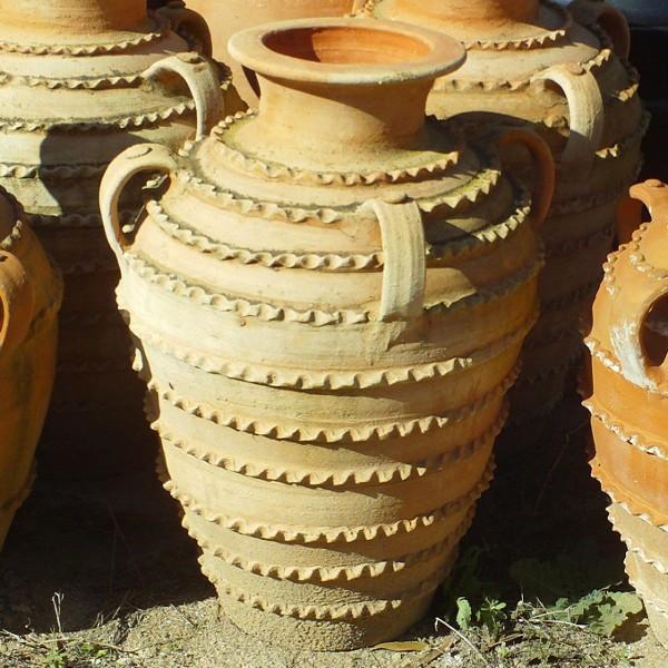 Pot En Terre Cuite Du Maroc Avec Deux Anses Artisanat