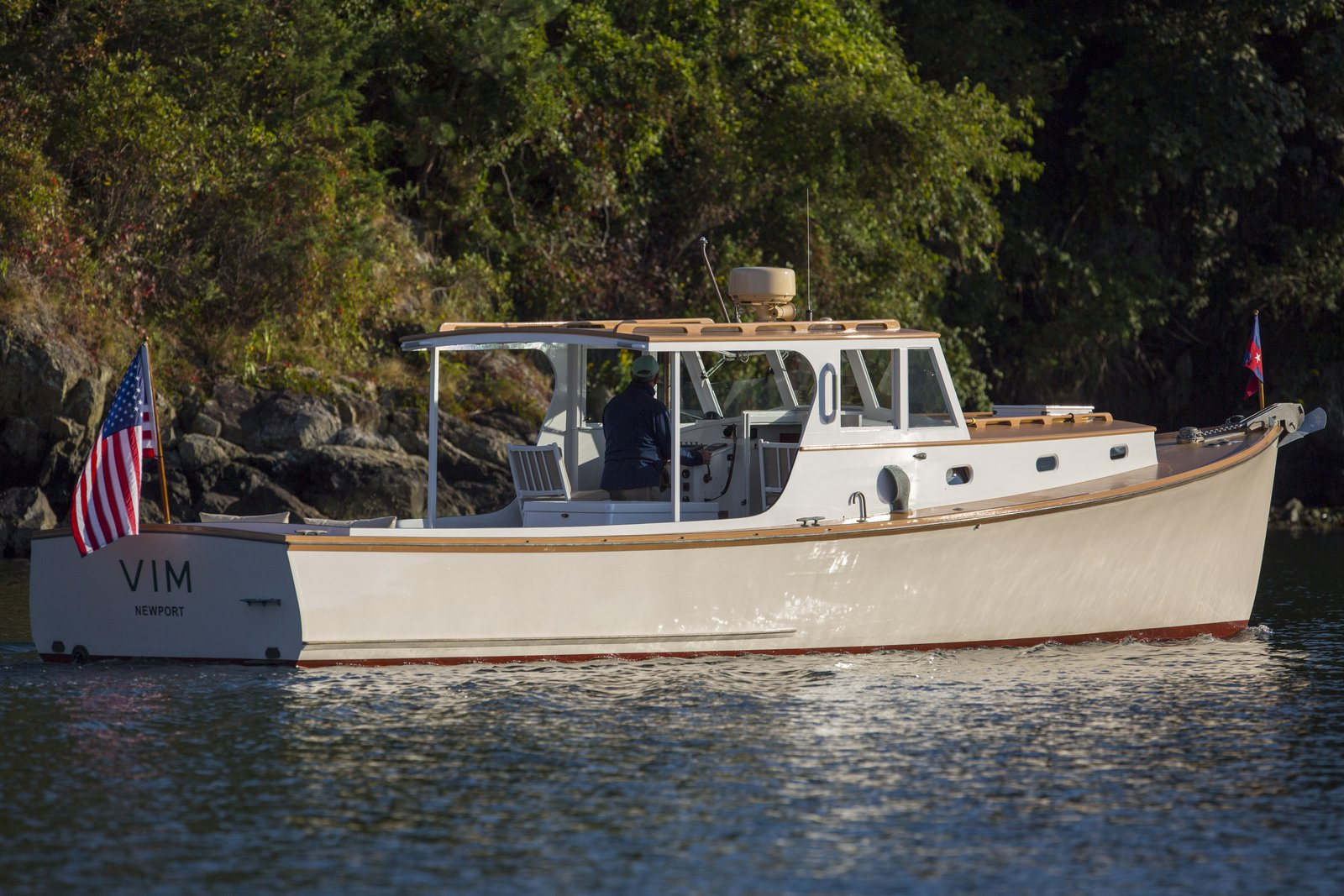 VIM 1957 Newbert Amp Wallace Lobster Yacht Artisan Boatworks