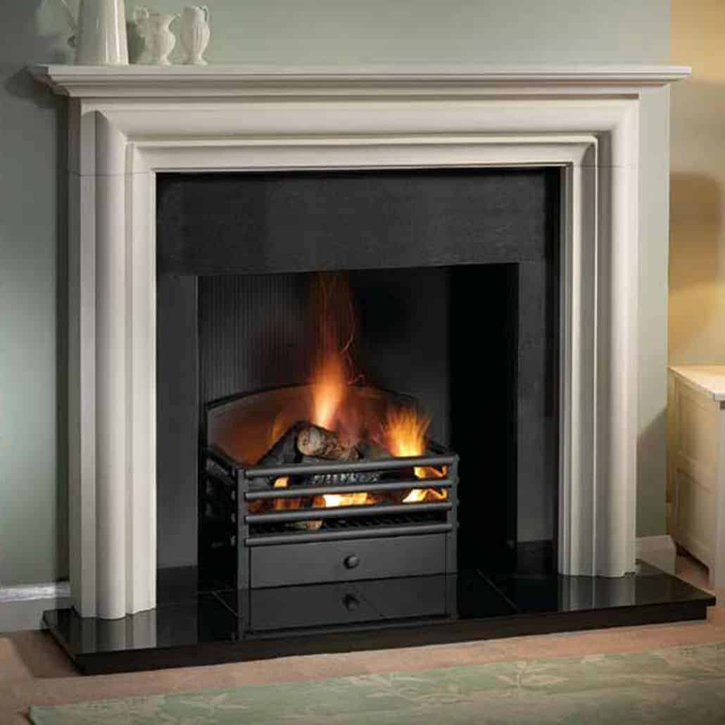 Gas Victorian Fireplace
