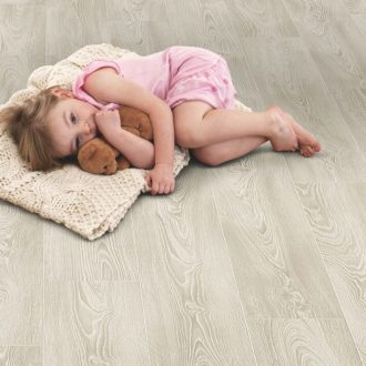 Frosted Oak grey laminate flooring