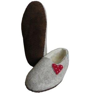 chaussons feutre naturels 0 1