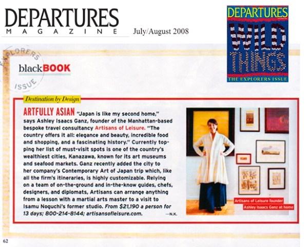 Departures Magazine - Artfully Asian: Asia Luxury Travel ...